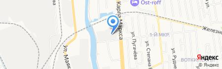 Колорит-Принт на карте Ижевска