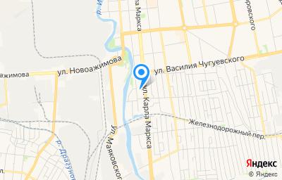 Местоположение на карте пункта техосмотра по адресу г Ижевск, ул Карла Маркса, д 55А