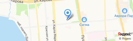 АХ на карте Ижевска