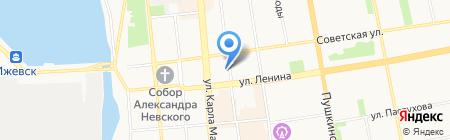 Ижевский ЭПИцентр на карте Ижевска