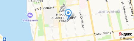 Удмуртская природоохранная межрайонная прокуратура на карте Ижевска
