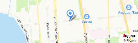 Детский сад №77 на карте Ижевска