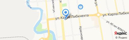Инвестпром на карте Ижевска