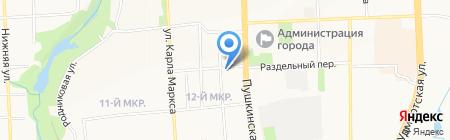 Центр бухгалтерского учета на карте Ижевска