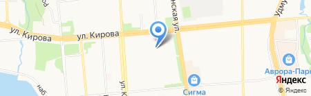 City Service на карте Ижевска
