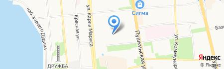 BSS на карте Ижевска