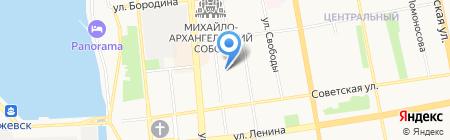 Министерство информатизации и связи Удмуртской Республики на карте Ижевска