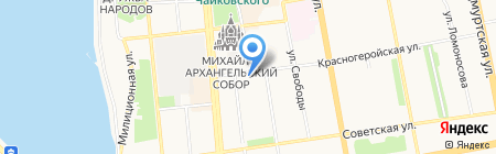 Производственный трест банно-прачечного хозяйства на карте Ижевска