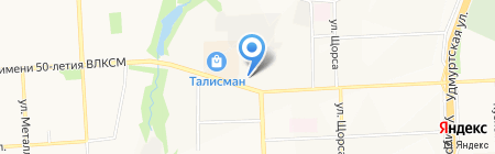 Башнефть-Удмуртия на карте Ижевска