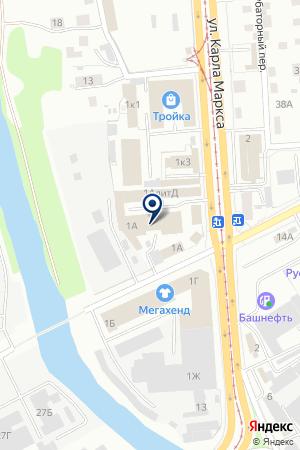 АВТОМАГАЗИН ДЕЛЬТА-ШИНА на карте Ижевска