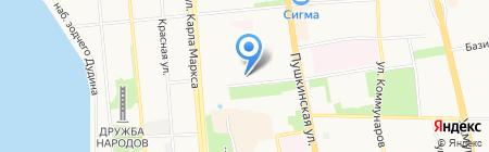 Альбион на карте Ижевска