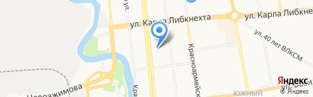 Содружество на карте Ижевска