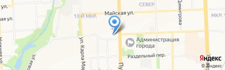 Фруктовик на карте Ижевска