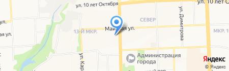 РуссИнвест на карте Ижевска