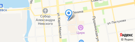 Элгуд на карте Ижевска