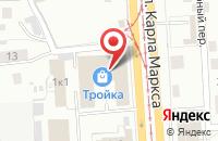 Схема проезда до компании Лювит в Ижевске