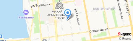 Гимн-2 на карте Ижевска