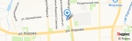 Детский сад №76 на карте Ижевска