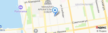 Лаборатория энергосбережения на карте Ижевска