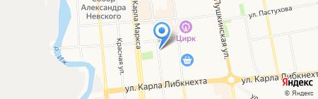 Уралэлектромонтаж на карте Ижевска