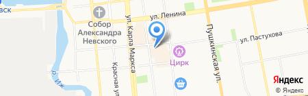 Непоседа на карте Ижевска