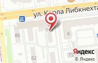 Схема проезда до компании Фрейм в Ижевске