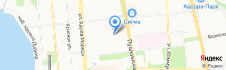 Аркс на карте Ижевска