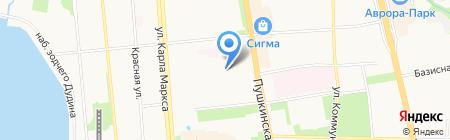 БлагоДар на карте Ижевска