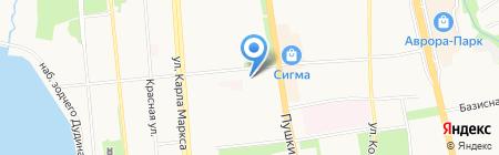 Митра на карте Ижевска