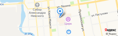 Nev way на карте Ижевска
