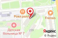 Схема проезда до компании Центр Правовой Поддержки Инвалидов в Ижевске