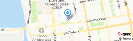 С новосельем на карте Ижевска