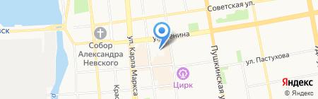 Агентство недвижимости на карте Ижевска