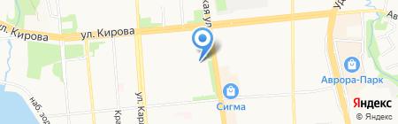 Окна Veka на карте Ижевска