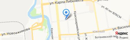 Киоск по ремонту обуви на карте Ижевска