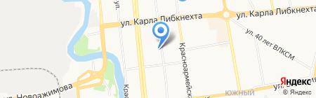 Архип на карте Ижевска