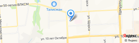 Регион Бизнес Консалтинг Центр на карте Ижевска