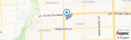IVEX на карте Ижевска