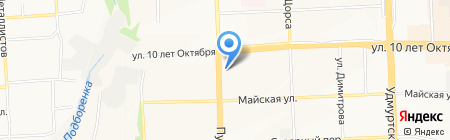 ИжевскИнфо на карте Ижевска