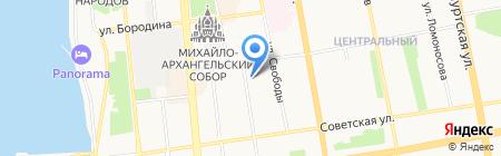 Банкомат ВБРР ОАО Всероссийский банк развития регионов на карте Ижевска