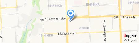 Бизнес ресурсы на карте Ижевска