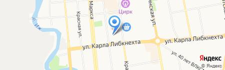 АвтоДоп на карте Ижевска
