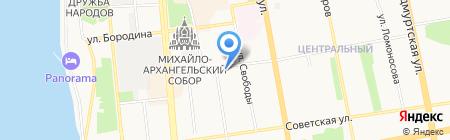 Учебный центр профсоюзов Удмуртской Республики на карте Ижевска
