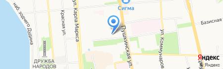 Все жилье Ижевска на карте Ижевска