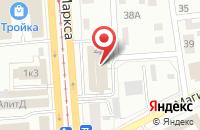 Схема проезда до компании Фонд Поддержки Сельского Хозяйства в Ижевске