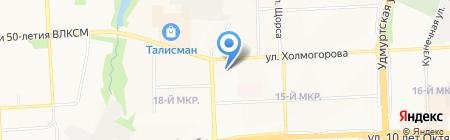 Росгосстрах на карте Ижевска