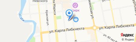 Прожектор на карте Ижевска