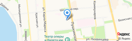 Участковый пункт полиции №13 на карте Ижевска