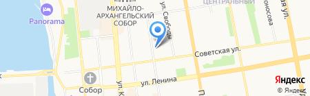 Чарлик на карте Ижевска