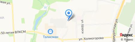 Транстехнокомплект на карте Ижевска